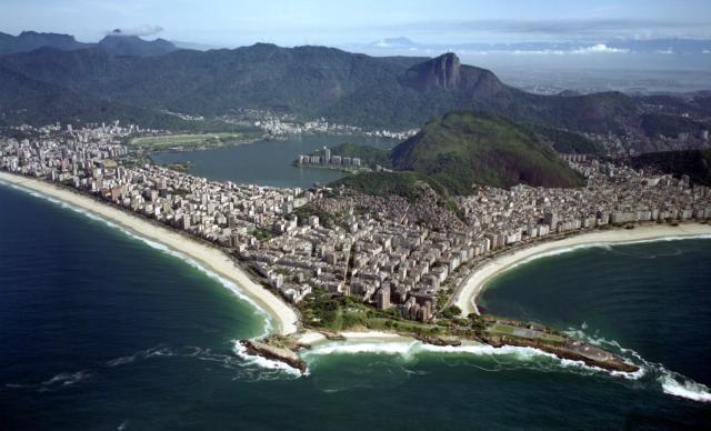 brasilien rio de janeiro straende ipanema corcovado