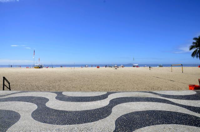 brasilien copacabana muster
