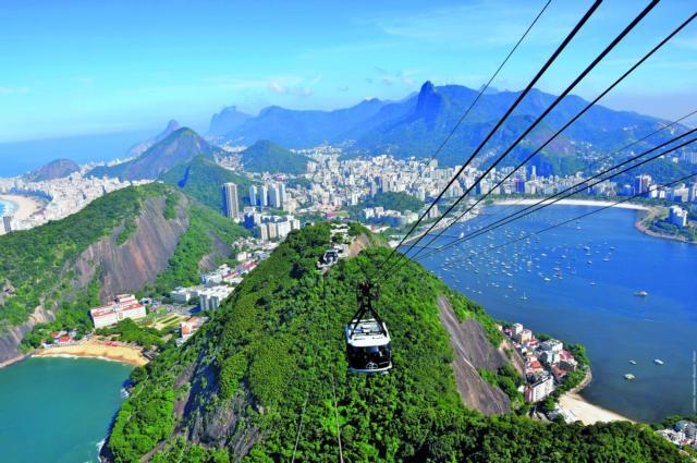 brasilien rio de janeiro corcovado seilbahn