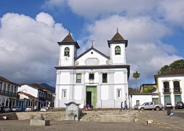 brasilien mariana kathedrale gold