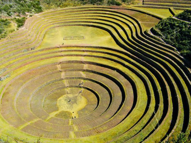 PERU CUSCO HEILIGES TAL MORAY