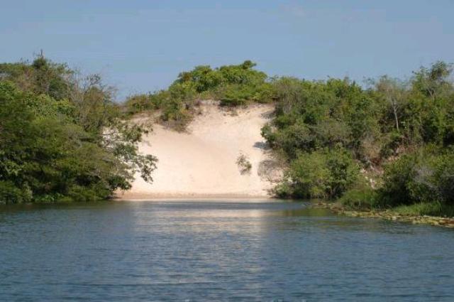 brasilien rio preguiças lençois maranhenses