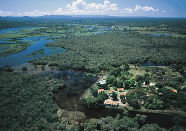 brasilien pantana rio mutum lodge panorama