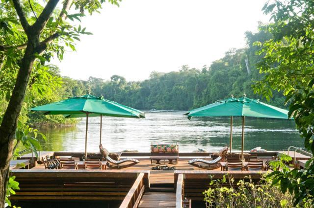 brasilien alta floresta cristalino lodge deck