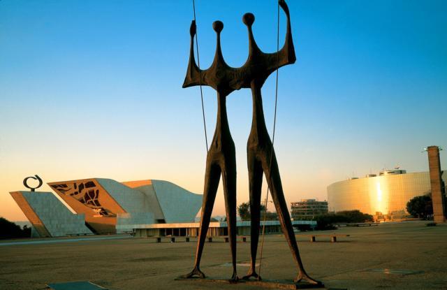 brasilien brasilia statuen architektur