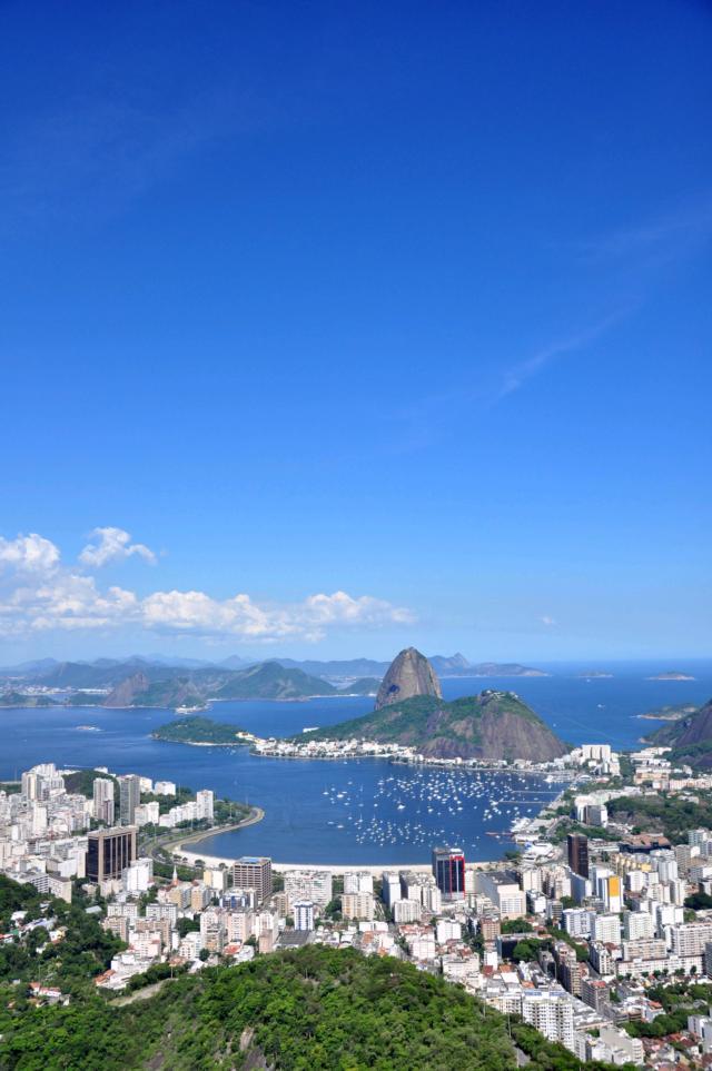 BRASILIEN RIO DE JANEIRO CORCOVADO