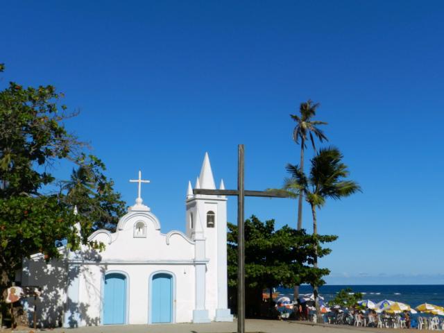 brasilien praia do forte kirche