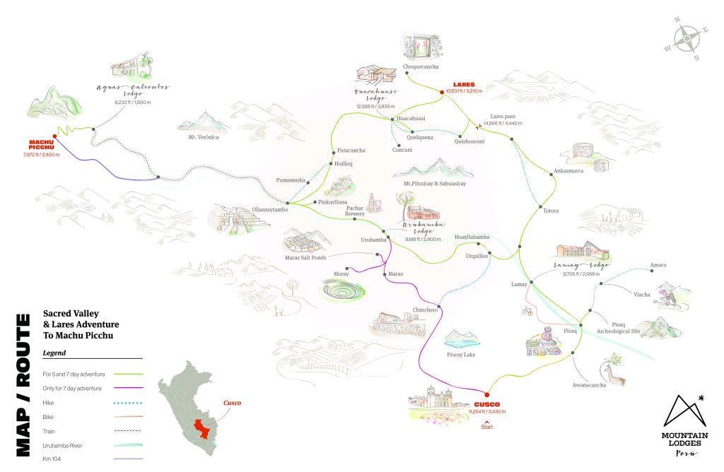 lares map