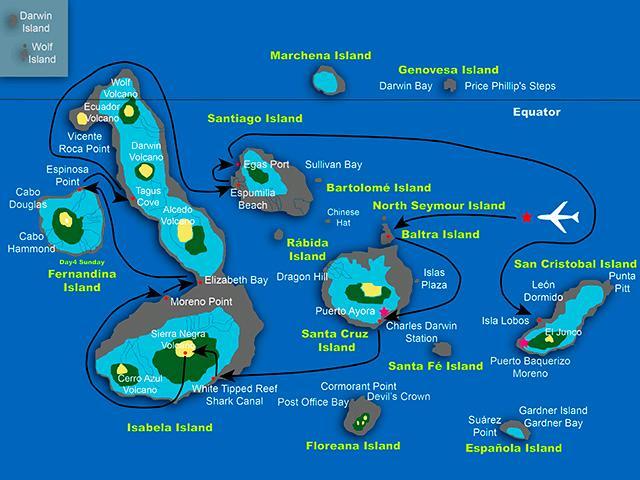 SEASTAR MAP ROUTE C